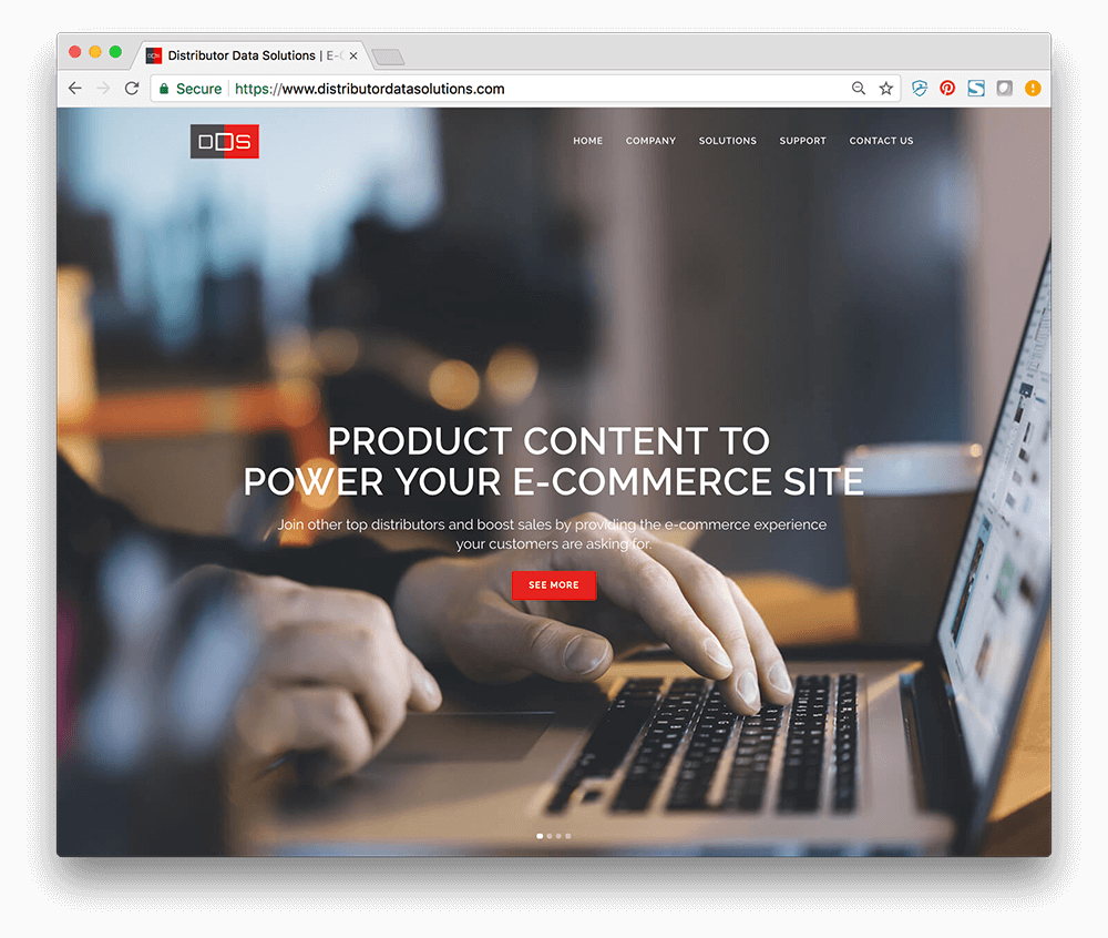 DDS Launches New Website and Solution Suite for E-Commerce