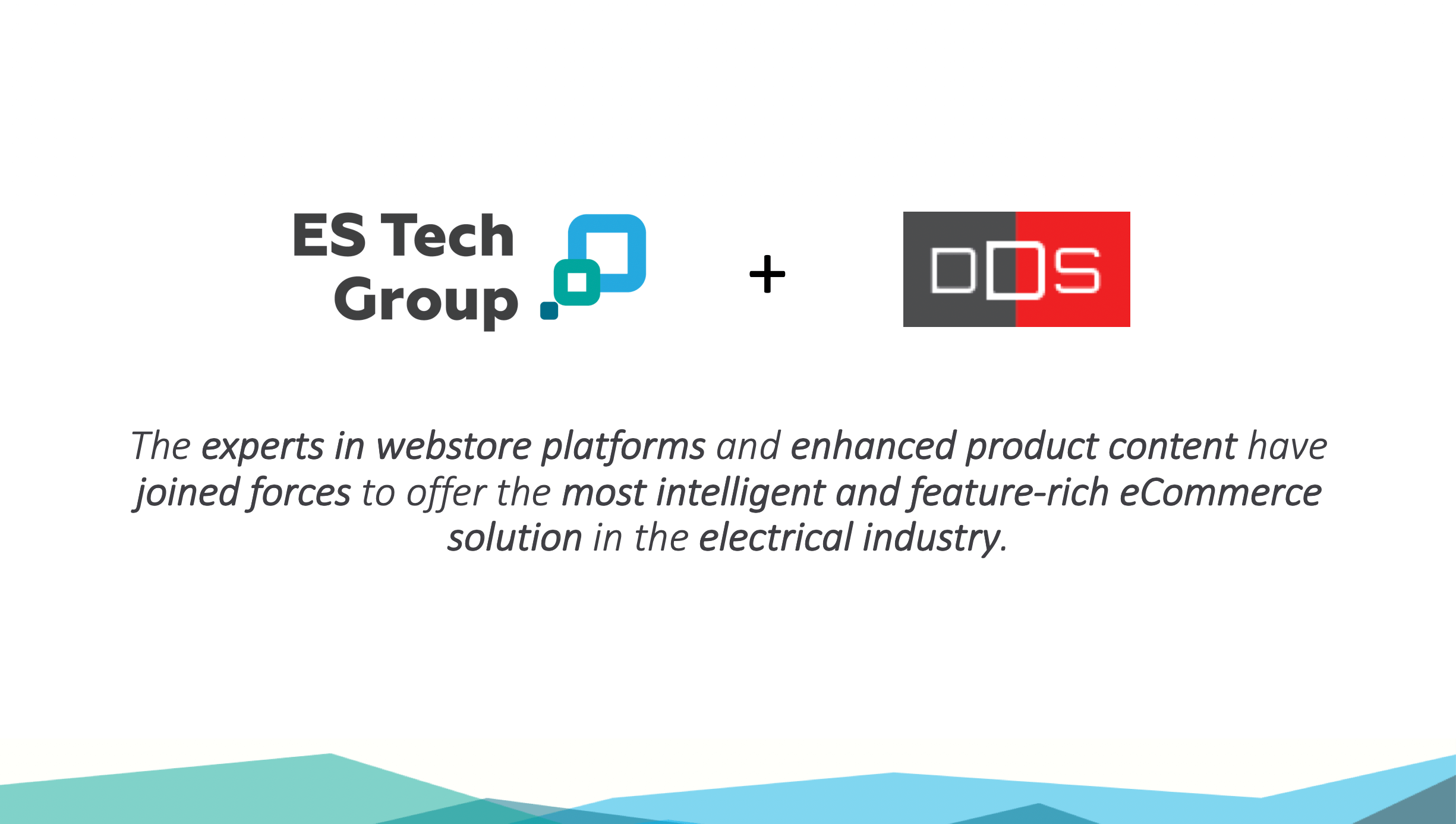 ES Tech Group + DDS Announce Joint eCommerce Solution Suite